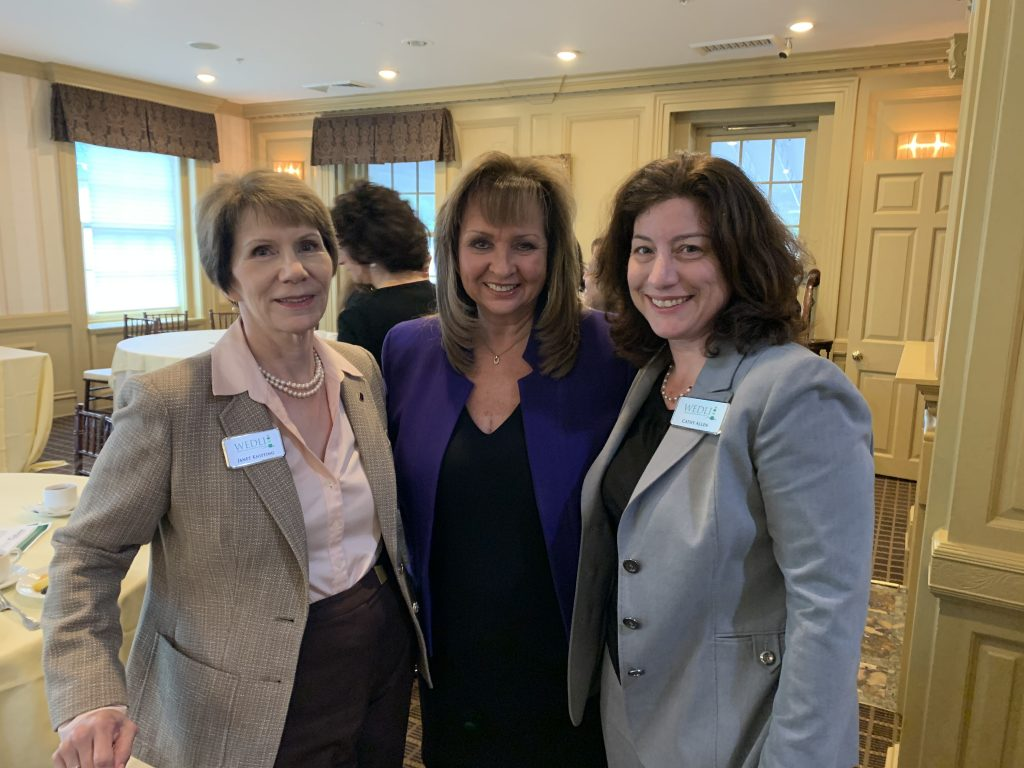 Janet Knipfing, Terri Alessi-Miceli, Cathy Allen