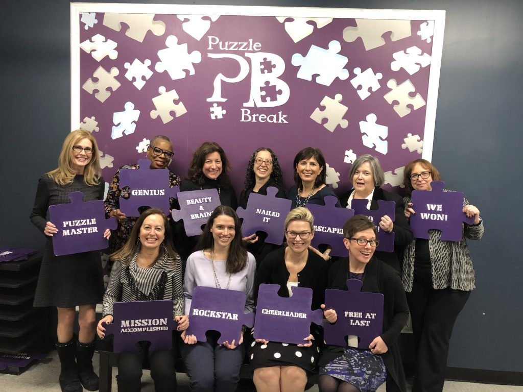 WEDLI members - escape the room event