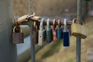 group of padlocks