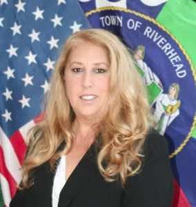 Riverhead Town Supervisor Yvette Aguiar